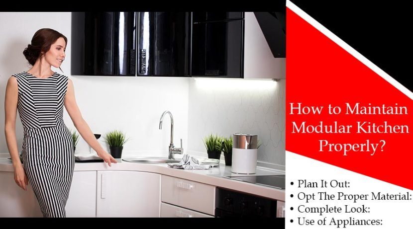 How to Maintain Modular Kitchen Properly